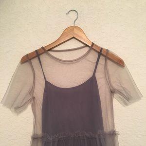 TOPSHOP mesh dress ✨
